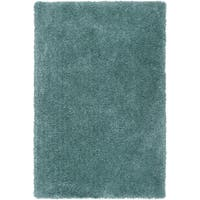 "Hand-tufted Kampen Blue Polyester Rug-(5' x 7'6"")"