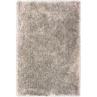 Hand-tufted Gouda Beige Soft Plush Shag Rug (2' x 3')