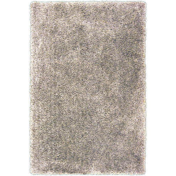Silver Orchid Florelle Hand-tufted Beige Shag Area Rug (5' x 7'6)