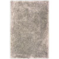 Silver Orchid Florelle Hand-tufted Beige Shag Area Rug - 5' x 7'6