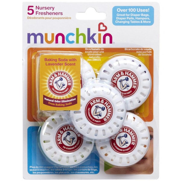 Munchkin Arm & Hammer Nursery Fresheners (Pack of 5)