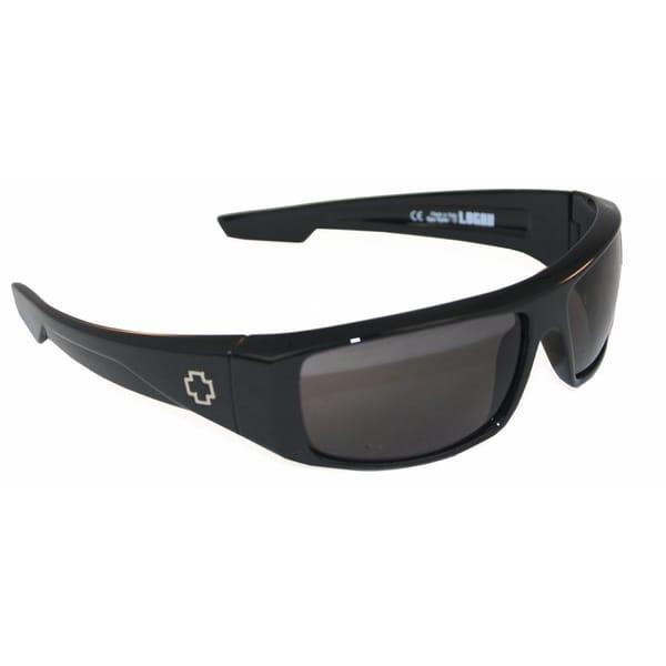 Spy Optic Men's 'Logan' Black Wrap Sunglasses