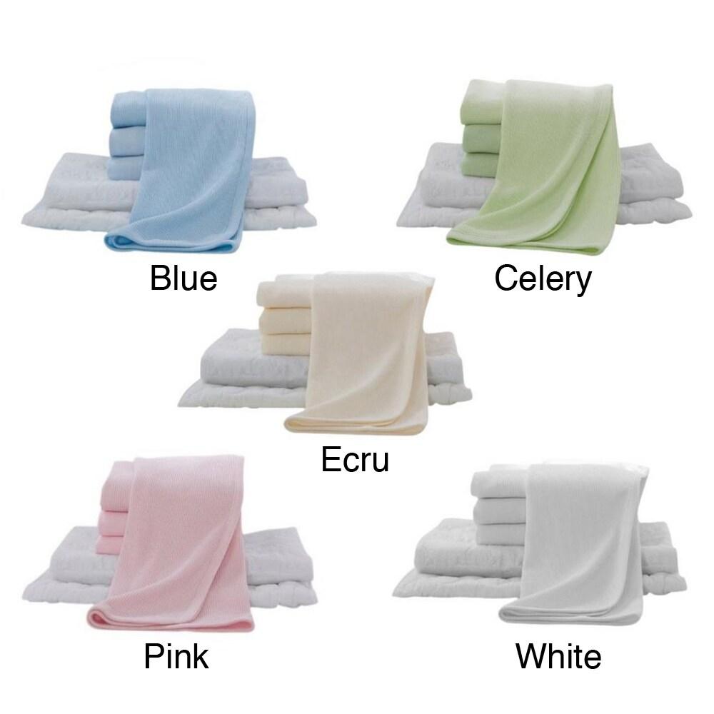 American Baby 6-piece Crib Bedding Set (Ecru), Yellow (Co...