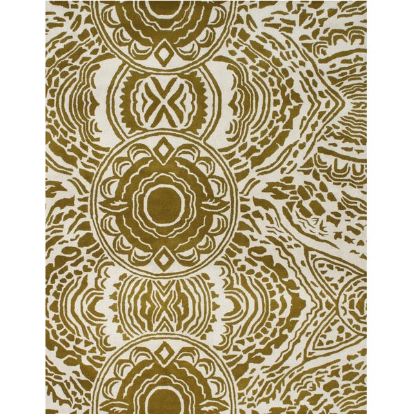 Alliyah Tufted Lamb's Wool New Zealand Blend Wool Rug (8 x 10)