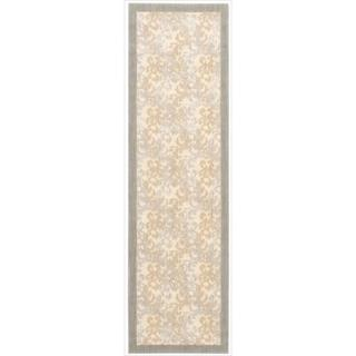 Barclay Butera Hinsdale Dove Area Rug by Nourison (2'3 x 8')