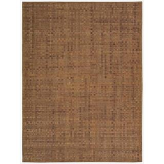 Barclay Butera Equestrian Saddle Area Rug by Nourison (4' x 6')