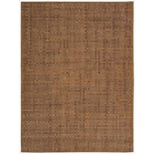 """Barclay Butera Equestrian Saddle Area Rug by Nourison - 5'3"""" x 7'5"""""""