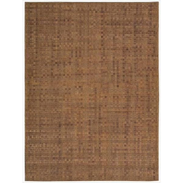 Barclay Butera Equestrian Saddle Area Rug by Nourison (5'3 x 7'5)
