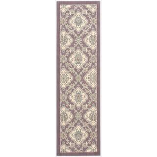 Barclay Butera Hinsdale Violet Area Rug by Nourison (2'3 x 8')