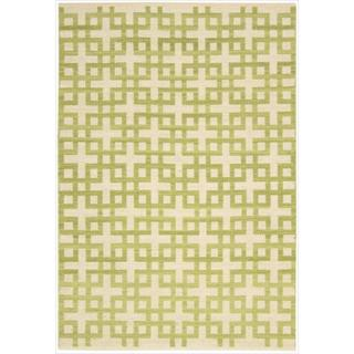 Barclay Butera Maze Moss Area Rug by Nourison (3'6 x 5'6)