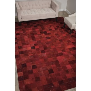 Barclay Butera Medley Scarlet Area Rug by Nourison (5'3 x 7'5)