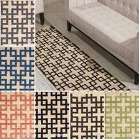 Nourison Barclay Butera Maze Flatweave Rug (2'3 x 8')