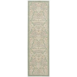 Barclay Butera Hinsdale Celery Area Rug by Nourison (2'3 x 8')