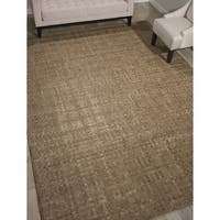 Barclay Butera Equestrian Chestnut Area Rug by Nourison - 5'3 x 7'5