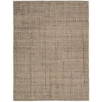 Barclay Butera Equestrian Chestnut Area Rug by Nourison - 8' x 11'