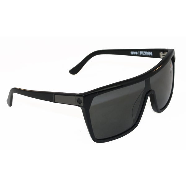 Spy Sunglasses Flynn  spy optic men s flynn matte black oversized sunglasses free