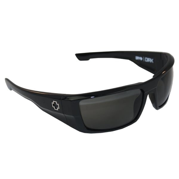 Spy Optic Men's 'Dirk' Shiny Black Polarized Sunglasses