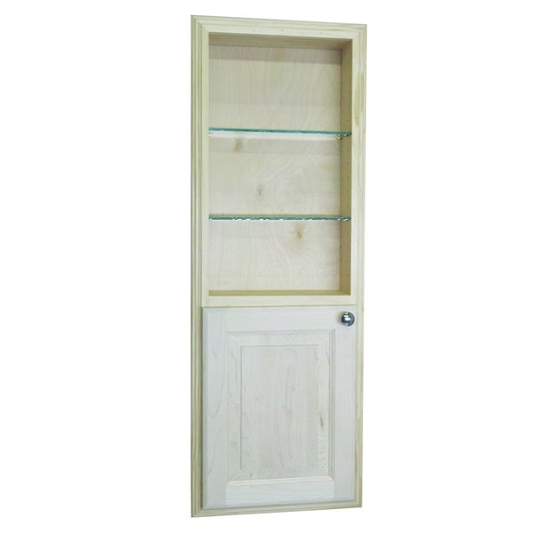 recessed bathroom cabinets for storage shop 42 inch recessed baldwin medicine storage cabinet 24031