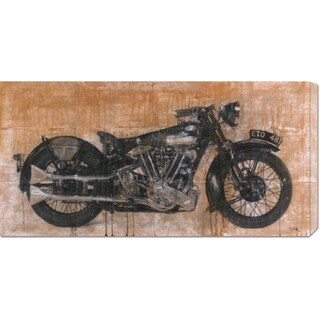 Global Gallery Dario Moschetta 'Brough Superior' Stretched Canvas