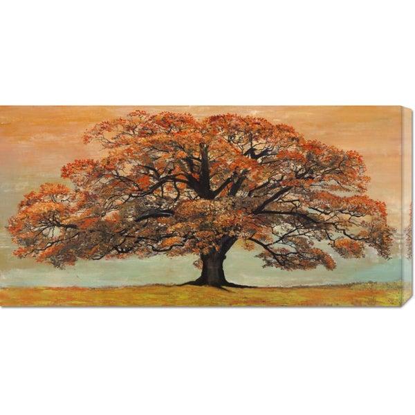 Global Gallery Jan Eelder 'Oak' Stretched Canvas