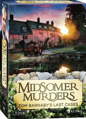 Midsomer Murders: Tom Barnaby's Last Cases (DVD)