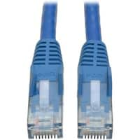 Tripp Lite 3ft Cat6 Gigabit Snagless Molded Patch Cable RJ45 M/M Blue