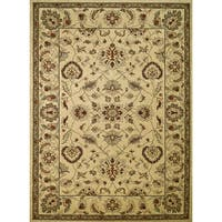 Concord Global Chester Marshall Ivory Area Rug - 5'3 x 7'3
