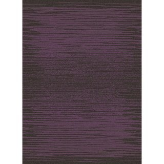 Contempra Collection Vibes Amethyst Polypropylene Rug (7'10 x 10'6)