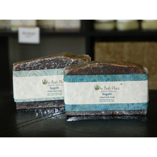 The Bath Place 'Sugah!' Handcrafted Soap Duo
