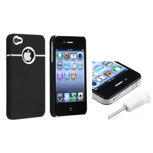BasAcc Dark Purple Case/ Dust Cap for Apple iPhone 4/ 4S