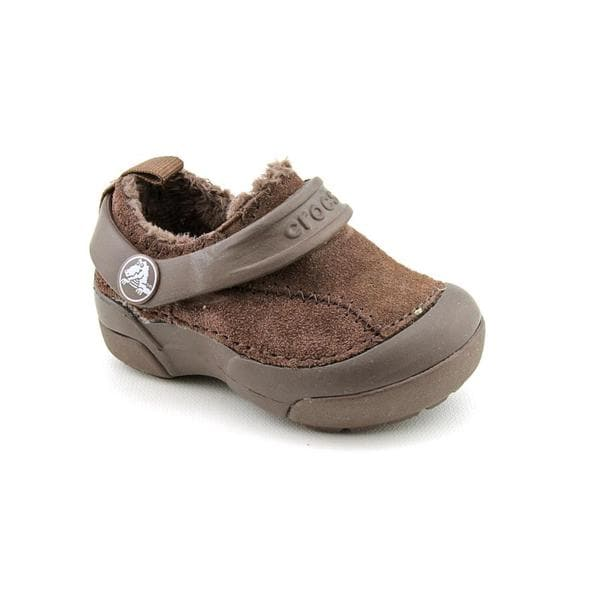 Crocs Boy's 'DawsonKids' Leather Casual Shoes (Size 4)
