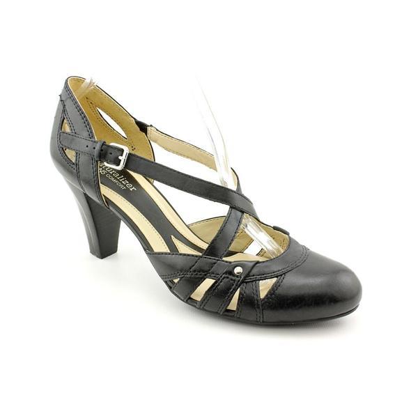 5590fef63cea Shop Naturalizer Women s  Elaine  Leather Dress Shoes - Wide (Size ...