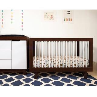 Babyletto Hudson Espresso/ White 3-in-1 Convertible Crib