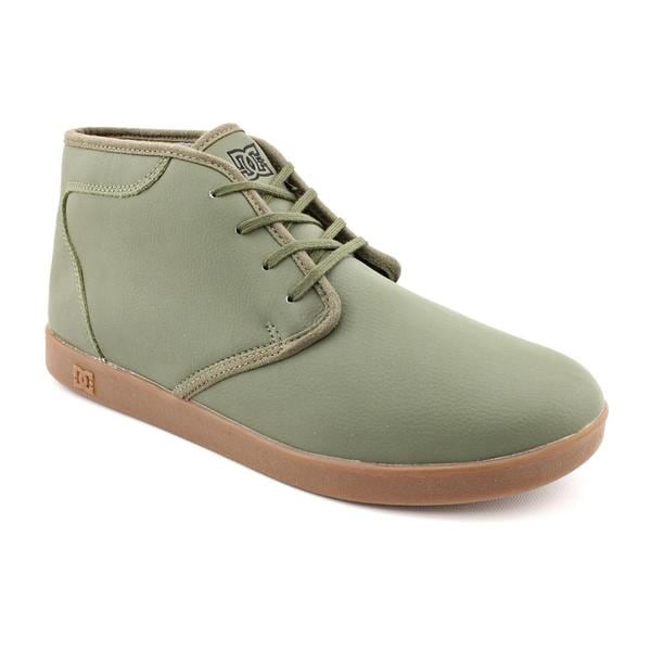 DC Men's 'Village High' Leather Casual Shoes