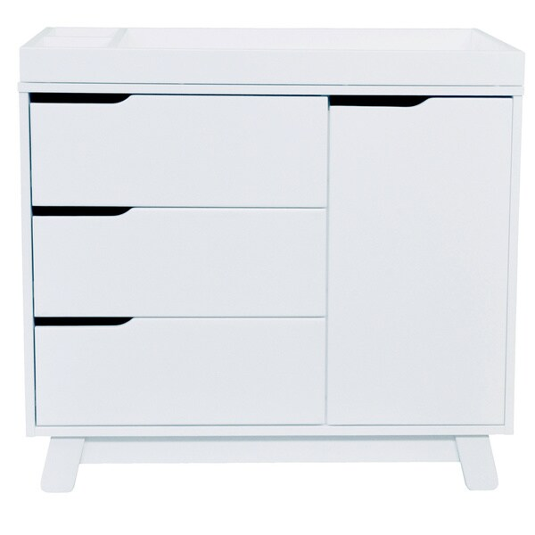 Babyletto Hudson 3 Drawer Changer Dresser With Removable Changing Tray    Free Shipping Today   Overstock.com   15058554