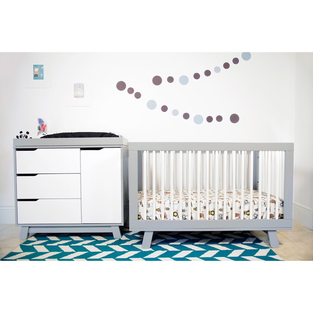 Babyletto Hudson 3 Drawer Changer Dresser White | EBay