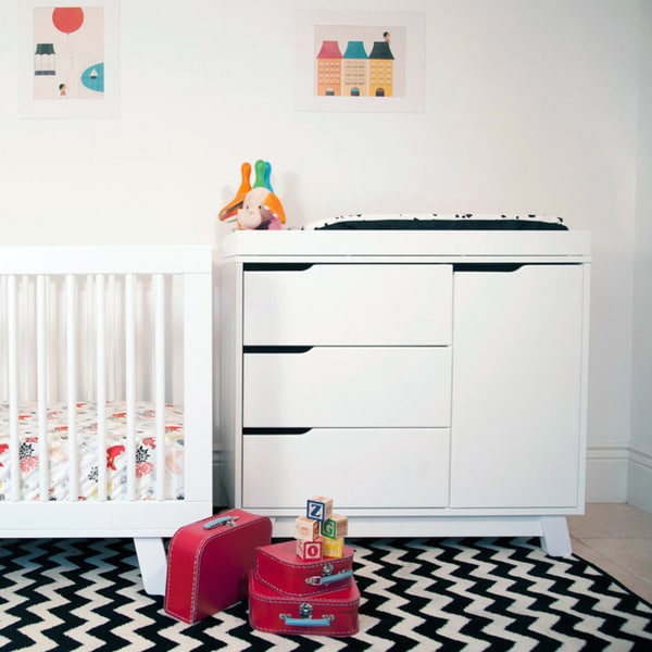 Babyletto Hudson 3 Drawer Changer Dresser With Removable