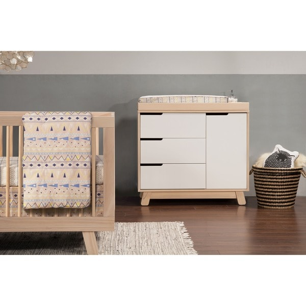 Babyletto Hudson 3 Drawer Changing Table Dresser Free