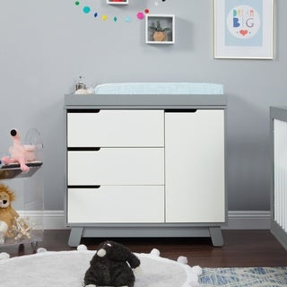 Babyletto Hudson Wood 3-drawer Changer Dresser with Removable Changing Tray