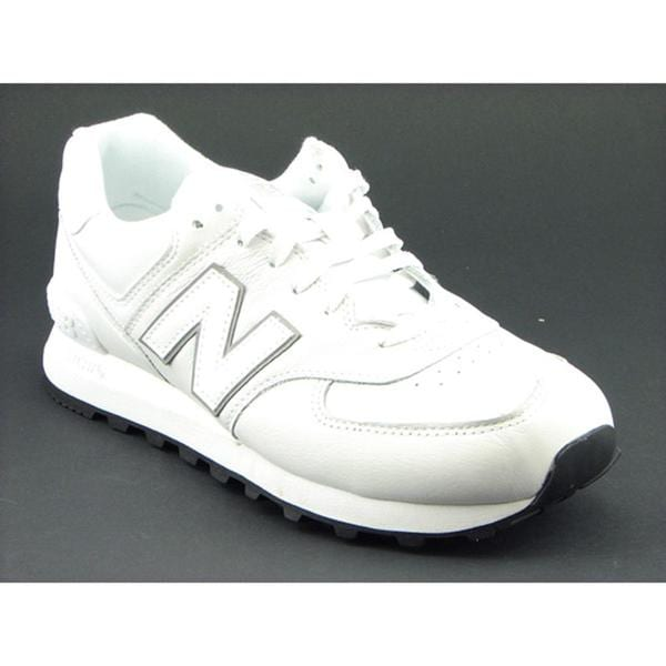 New Balance Men's 'NB574' Leather Casual Shoes
