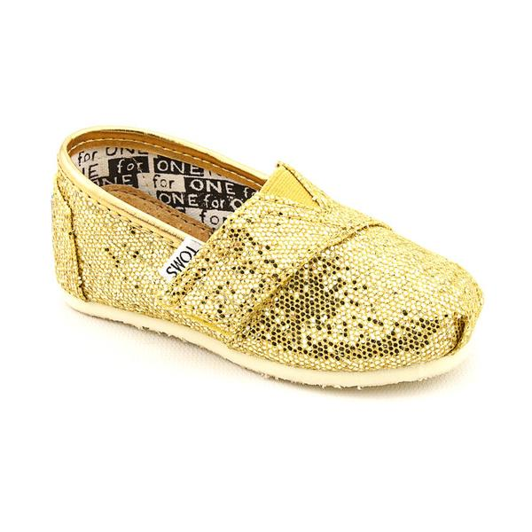 Toms Boy's 'Classics' Fabric Casual Shoes (Size 5)