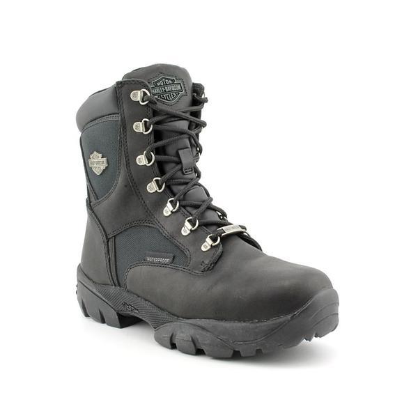 Harley Davidson Women's 'Hennie' Leather Boots (Size 6)