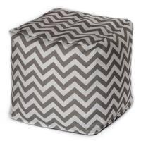 Porch & Den Hopecrest Dormont Chevron Outdoor Beanbag Cube