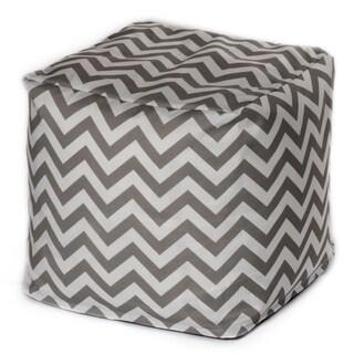 Chevron Outdoor Beanbag Cube