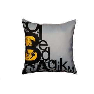 Maxwell Dickson Alphabets Throw Pillow