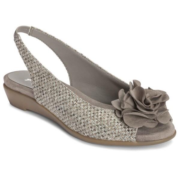 A2 by Aerosoles Women's 'Grey' Sandals
