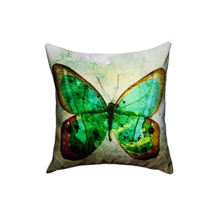 Maxwell Dickson Butterfly Throw Pillow