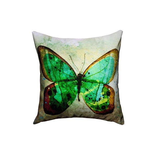 Maxwell Dickson Butterfly Throw Pillow