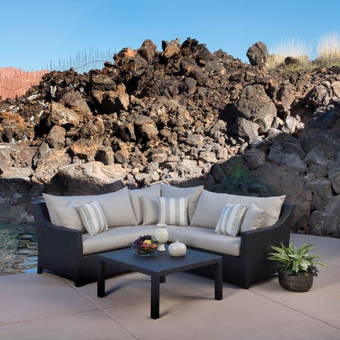 Deco 4pc Sectional and Table by RST Brands