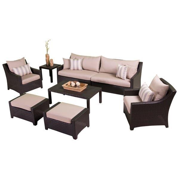 Rst Brands Slate 8 Piece Sofa